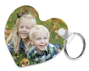 Unisub #5520 - FRP Heart Key Chain
