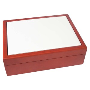 "6"" x 8"" Standard Wood Box - Off-Shade"
