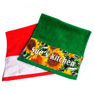 Red/Green Towels