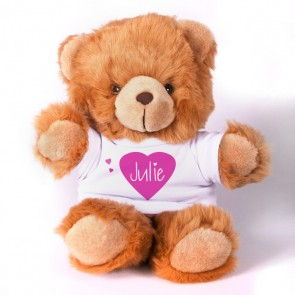 "13"" Cuddle Bears w/ cotton t-shirt"
